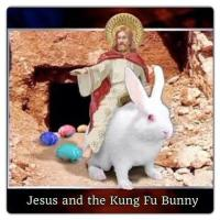 Butch Sundance, Jesus and the Easter Bunny
