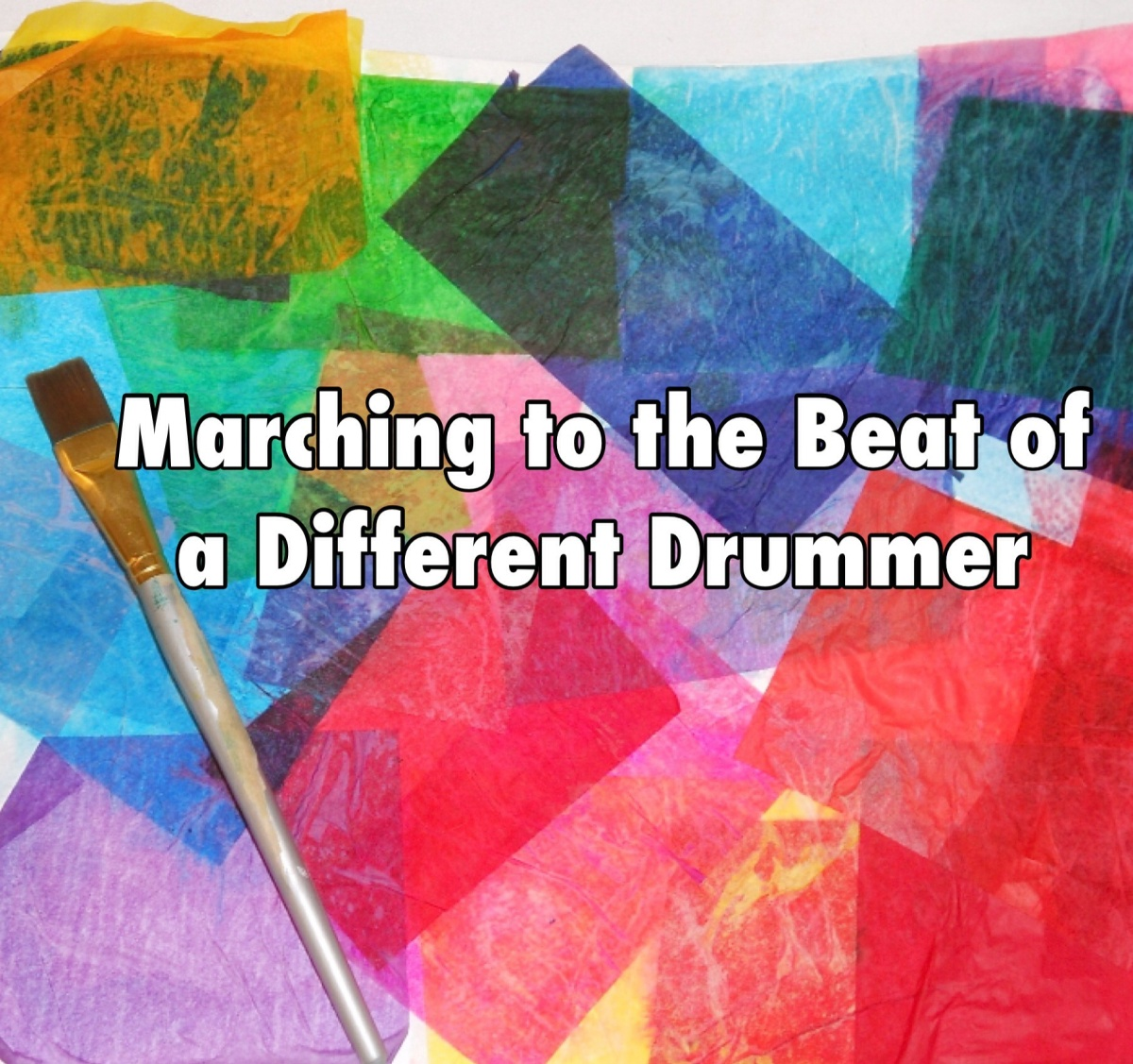 marching to a different drummer English [] alternative forms [] march to a different drum / march to a different drummer march to one's own drum / march to one's own drummer march to the beat of a different drummer.