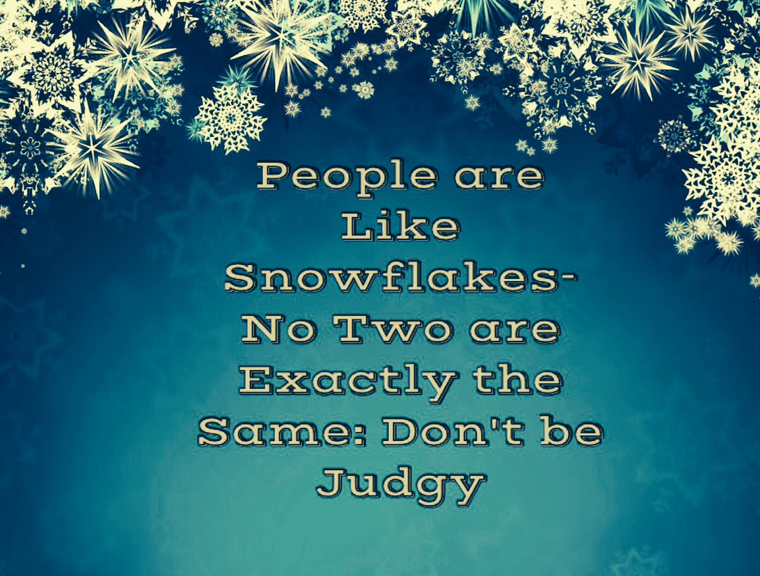 people are like snowflakes Generation snowflake, or snowflake generation, is a neologistic term used to characterize the young adults of the 2010s as being more prone to taking offence and less resilient than previous generations, or as being too emotionally vulnerable to cope with views that challenge their own the term is considered derogatory.